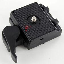 SLR DSLR Camera Lens Tripod Quick Release Clamp Plate Mount Screw Adapter Set