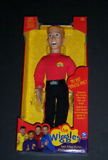 New NIB The Wiggles Red Speak N Sing Murray Talking Collector Doll - Retired