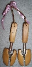 Antique Cobblers Wood CHILDS SHOE TREE #19 Rochester NY