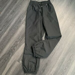 Women's Obermeyer nylon athletic Jogger track Pant Bottoms Size 6 black