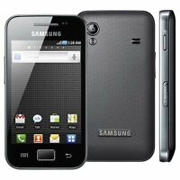 Samsung GALAXY Ace GT-S5830i Black ANDROID Smartphone 3G Unlocked Mobile Boxed