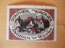 (937) Reklamemarke Pelikan-Werke Günther Wagner