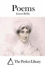 Poems by Joanna Baillie (2015, Paperback)