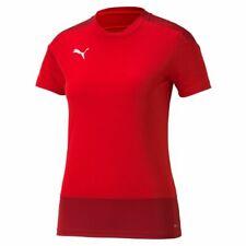 Puma Sport Football Women Ladies Training Short Sleeve SS Jersey Shirt Crew Neck