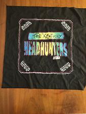 Vintage Ky Kentucky Headhunters Rock Band Scarf Bandana Tour 1989 1990 Tenness