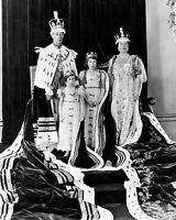 New 8x10 Photo: Coronation of King George VI and Queen Elizabeth, Royal Family