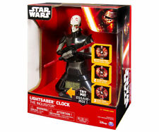 Star Wars Lightsaber Clock 25cm Inquisiteur U Unique