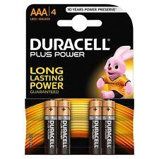 Pilas Duracell Plus AAA celular (MN2400) - Paquete de 4
