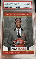 2012 Panini Hoops Rookie Damian Lillard Hem mint 10 PSA Portland Trailblazers