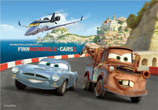 CARS 2 the movie Finn McMissle - Radiator Springs  3D Lenticular Poster - 10x14