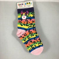 TY Fashion Sock-A-Boos DOTTY the Leopard Socks (One Size Fits All) Age 6 to 12
