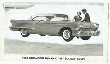 "Oldsmobile Dynamic 88 "" "" Holiday Coupé 1958 Pubblicità Foto Photo Photograph"