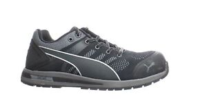 PUMA Mens Black Safety Shoes Size 10 (Wide) (1838893)