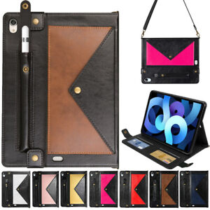 Envelope Leather Shoulder Bag Smart Case Cover For iPad Pro /Air 4 3 2 /Mini 8TH