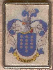 Heraldry PIN metallic del last name : VELAZQUEZ