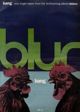 3/8/91 Pgn48 Advert: Blur The New Single bang From Album leisure 15x11