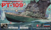 Lindberg 1:32 PT-109 John F.Kennedy's JFK's Motorized Plastic Model Kit #70813XU
