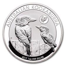 2017 1oz Australian Kookaburra Silver Coin | Rooster Privy (In Capsule)