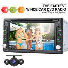 """6.2"""" 2DIN Car Radio Sat Nav GPS DVD SD For Nissan Qashqai Sentra X-Trail+Camera"""