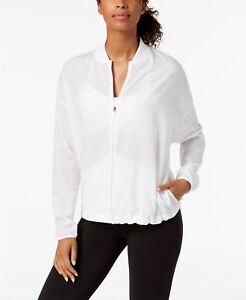 Nike Women's Flex Bliss Training Jacket Color:White Size:Large Nwt