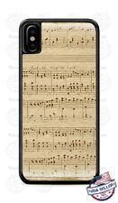 Vintage Melody Musical Notes Phone Case Cover For iPhone Samsung LG Google