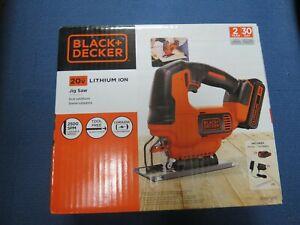 Black & Decker 20V Cordless Jig Saw BDCJS20C New