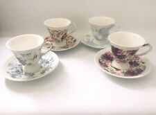 More details for lord nelson ware chintz pair of cups and saucers various patterns very pretty