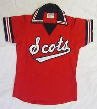Vtg NWOT 1980's SCOTS Girls Softball Soccer JERSEY SCOTLAND HS Sewn Youth Scott