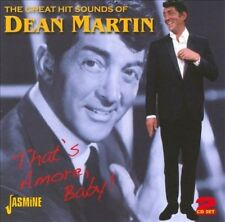 The Great Hit Sounds of Dean Martin: That's Amore, Baby! by Dean Martin (CD, Aug-2011, 2 Discs, Jasmine Records)