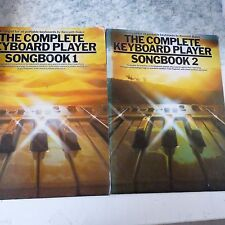 all organ COMPLETE KEYBOARD PLAYER SONGBOOK  1+2  Kenneth Baker #3004