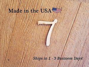 Wood Number, Disney Like Font, Address Numbers, Number, Room Numbers, LF#1007