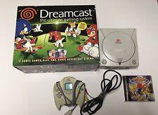 Sega Dreamcast Sonic Edition Bundle COMPLETE IN BOX