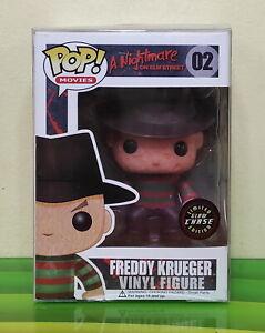 Funko Pop Freddy Krueger GITD Glow in the Dark CHASE Vinyl Figure