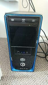 Cyberpower gaming PC, monitor and accessories bundle