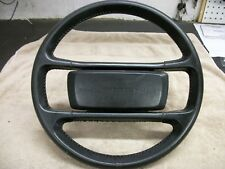 PORSCHE 944 STEERING WHEEL BLACK LEATHER
