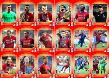 Liverpool 2019 UEFA Super Cup winners football trading cards