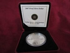 #4007   2007  PROOF SILVER DOLLAR