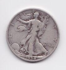 1934 Walking Liberty Half Dollar 90% Silver US Coin FREE SHIPPING!!