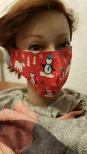Gesichtsmaske Mund- Nasenabdeckung Maske Erwachsene Pinguin Eisbär Elch