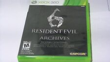 resident evil 6 archives Game For Xbox 360 *NTSC*