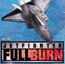 JetFighter Full Burn PC CD fly NATO air jet flight combat fight simulator game!