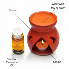 Ceramic Essential Oil Burners Wax Candle Incense Holder Home Nice Design Round
