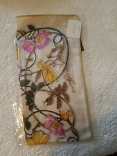 Gucci Floral Silk Scarf,  New with Tags and original receipt from Gucci