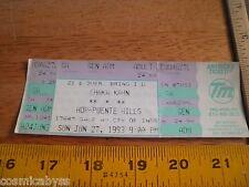 Chaka Kahn VINTAGE 1993 full concert ticket CA area