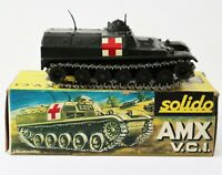 Vintage Solido Diecast Military Army Tank AMX 13 VCI 4/1971 Made in France
