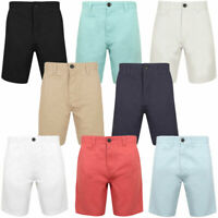 New Mens South Shore Branded 100% Twill Cotton Summer Chino Shorts Size S - XXL