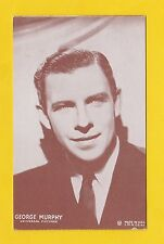 ACTORS  -  POSTCARD  -  WESTERNS  /  COWBOY  FILMS  -  GEORGE  MURPHY