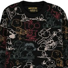 FINGER IN THE NOSE SWEATSHIRT PEANUTS SNOOPY 8-9 J. BLOGGER SCHWARZ LUCY