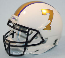 LSU TIGERS (GRIDIRON GOLD) Schutt XP Mini Helmet