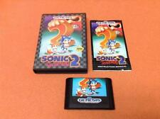 Sonic the Hedgehog 2 Sega Genesis Game Super Fast FREE SHIP Complete!